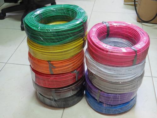 kit 30 metros de cabo colorido de microfone 2x0,30mm