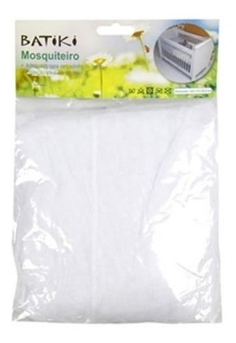 kit 30 mosquiteiro p/ berço branco insetos moscas protecao