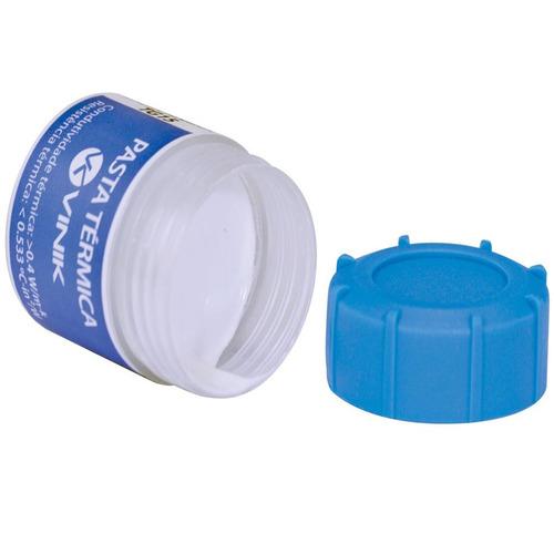 kit 30 pasta térmica para processador pote 15 gramas tg15