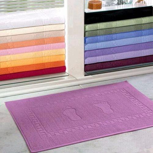kit 30 peças - tapete piso de banheiro - pé - grosso
