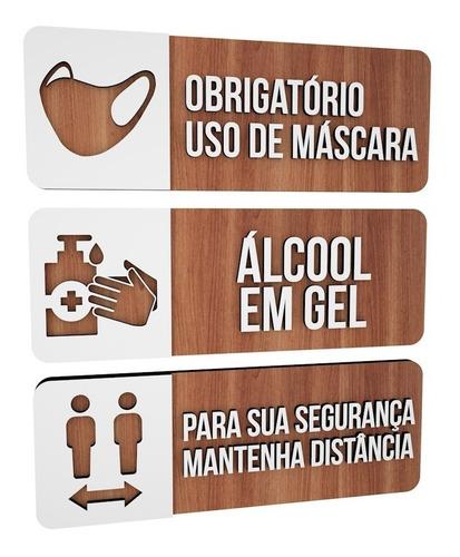 kit 30 placas de sinalização especiais encomenda personaliza