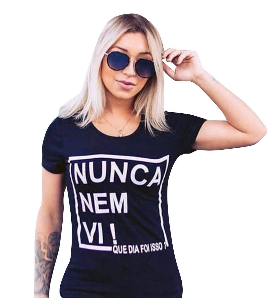 61fb5db833 Kit 30 T-shirt Blusa Roupa Feminina Atacado Frete Grátis - R  230