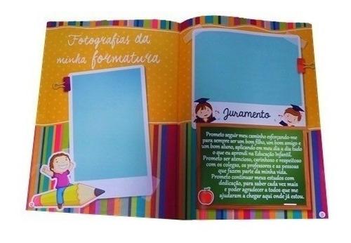 kit 30 unidades-minha formatura educacao infantil