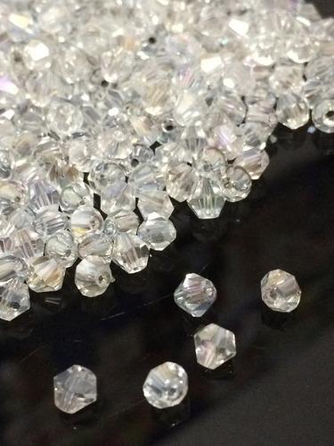 kit 300 pedras cristal swarovski 4mm branca boreal importada