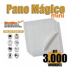 Kit 3000 Flanelas Microfibra Limpeza Celular 9,8x9,8 Cm