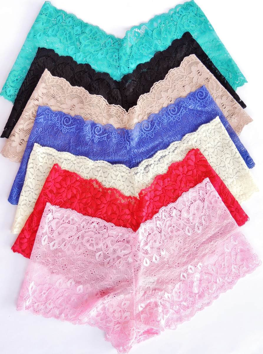 kit 36 caleçon em renda short feminino lingerie atacado mia. Carregando zoom . 474a59da7fa