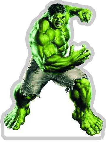 kit 36 vingadores hulk thor lembrancinha festa mesa bolo mdf r