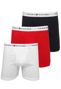 4d18b9ecc041ed Kit 3pçs Cueca Tommy Hilfiger Boxer Original