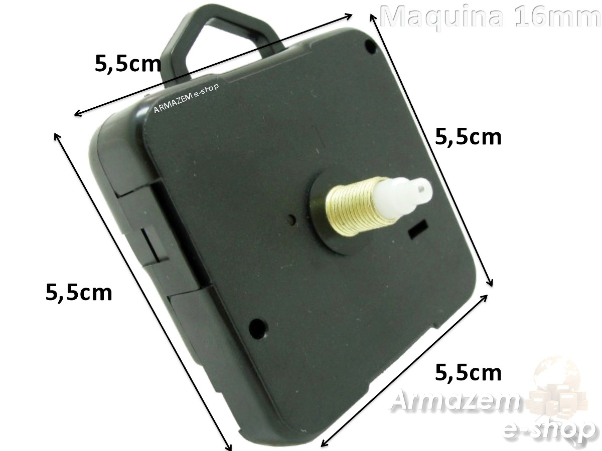 d4c83a0c5cf kit 3un maquina relógio quartz continuo com alça eixo 16mm. Carregando zoom.