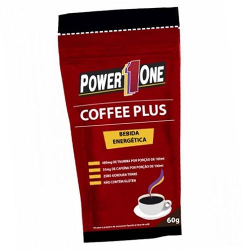 kit 3x - coffee plus 60g bebida energética - power1one