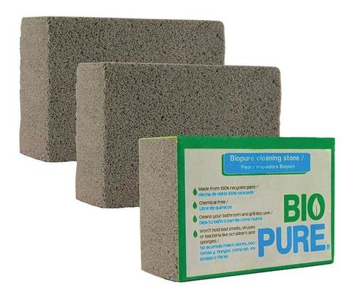 kit 3x piedra pomez para limpiar el baño y parrilla