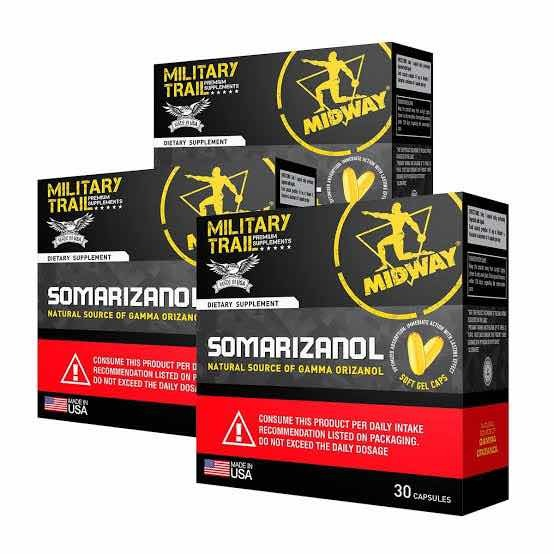 Kit 3x Pré Hormonal Somarizanol Midway 30 Caps. Original - R  42 3af93e45b8d93