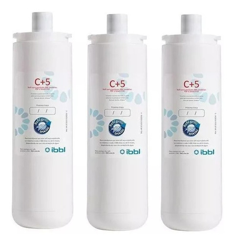 kit 3x refil original ibbl c+5 fr600 imaginare anti bacteria
