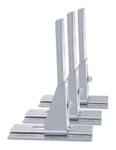kit 3x suporte fixação de motor portão eletrônico basculante