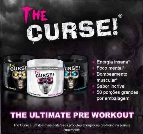 kit 3x the curse 250g 50 doses - cobra labs
