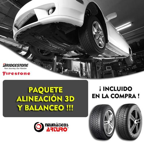 kit 4 175/70 r13 seiberling 500 + alineacion y balanceo