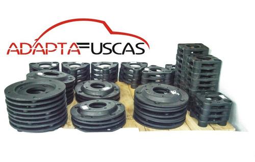 kit 4 adaptador 5x205 p 5x114 kombi fusca p opala 20 parafus