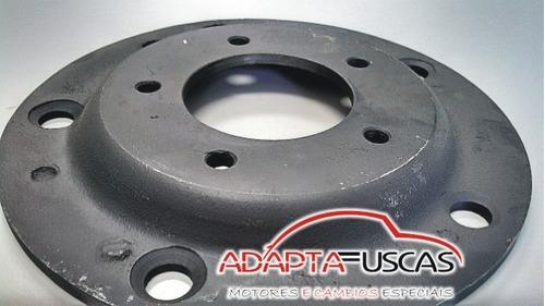 kit 4 adaptador roda 5x205 x 5x130 fusca porsche fucks empi