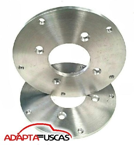 kit 4 adaptador roda aço 10mm fusca sp2 8x31 4x130 p 5x205