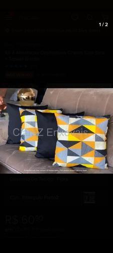 kit 4 almofadas decorativas cheias sala sofá