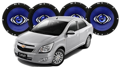 kit 4 alto auto falantes quad p/ cobalt 260wrms frete gratis