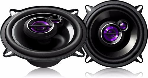 kit 4 alto falantes 5'' pioneer + módulo tl600 renault logan