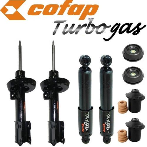 kit 4 amortecedor dianteiro traseiro vectra 97/.. cofap+kits