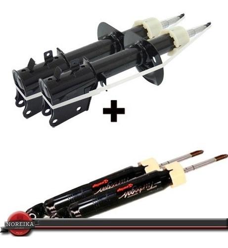 kit 4 amortecedor dianteiro/traseiro palio rst3 97/03 cofap