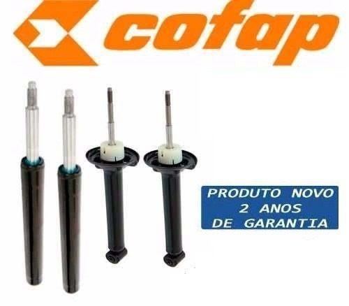 kit 4 amortecedor gol g2 g3 g4 original cofap + kits batente