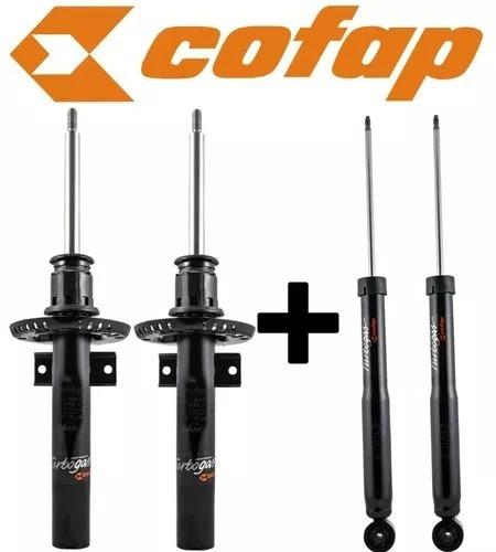 kit 4 amortecedor vw space fox 2009 original cofap novos