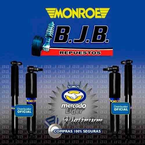 kit 4 amortiguadores monroe chevrolet silverado 79-91