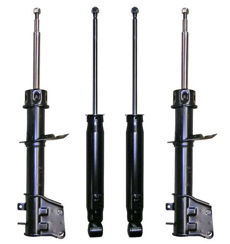 kit 4 amortiguadores p/ fiat siena monroe  (desde 2001)
