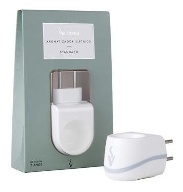 kit 4 aromatizador difusor elétrico via aroma standard