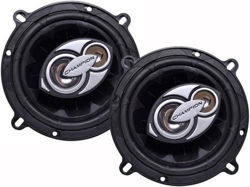 kit 4 auto alto falantes triax 200wrms p/ grand siena