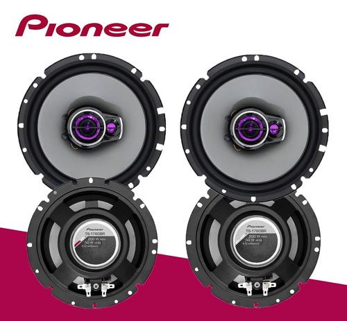 kit 4 auto falantes pioneer fox
