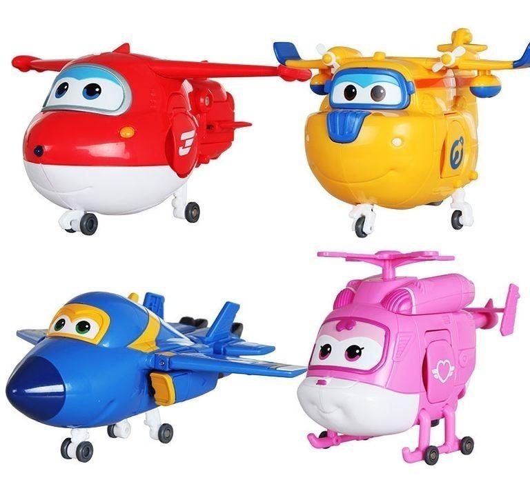 Kit 4 Avioes Desenho Infantil Super Wings Brinquedo R 119 00 Em