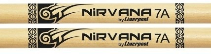 kit 4 baquetas nirvana tennessee liverpool 2 5a e 2 7a