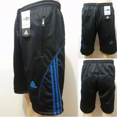 kit 4 bermuda short flanelada masculina a bolso ziper top