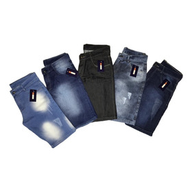 Kit 4 Bermudas Jeans Masculina As Mais Vendidas C/nf-e