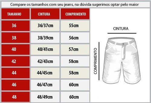 kit 4 bermudas jeans masculinas preço de fábrica atacado
