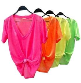 4266f9ee7c70ef Blusa Neon Feminina - Calçados, Roupas e Bolsas com o Melhores ...