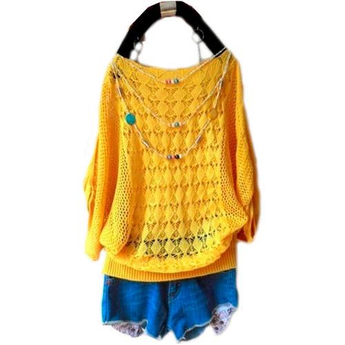 cbb8a8e7c6 Kit 4 Blusa Pulover Linha Blusas Femininas Atacado Online - R  158 ...