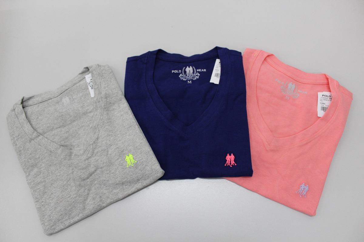 8af6a8268c11d kit 4 blusas básicas femininas polo wear original p000017339. Carregando  zoom.