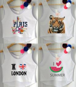 b668c749a9 Camisetas Femininas Atacado Barato - Camisetas e Blusas no Mercado Livre  Brasil