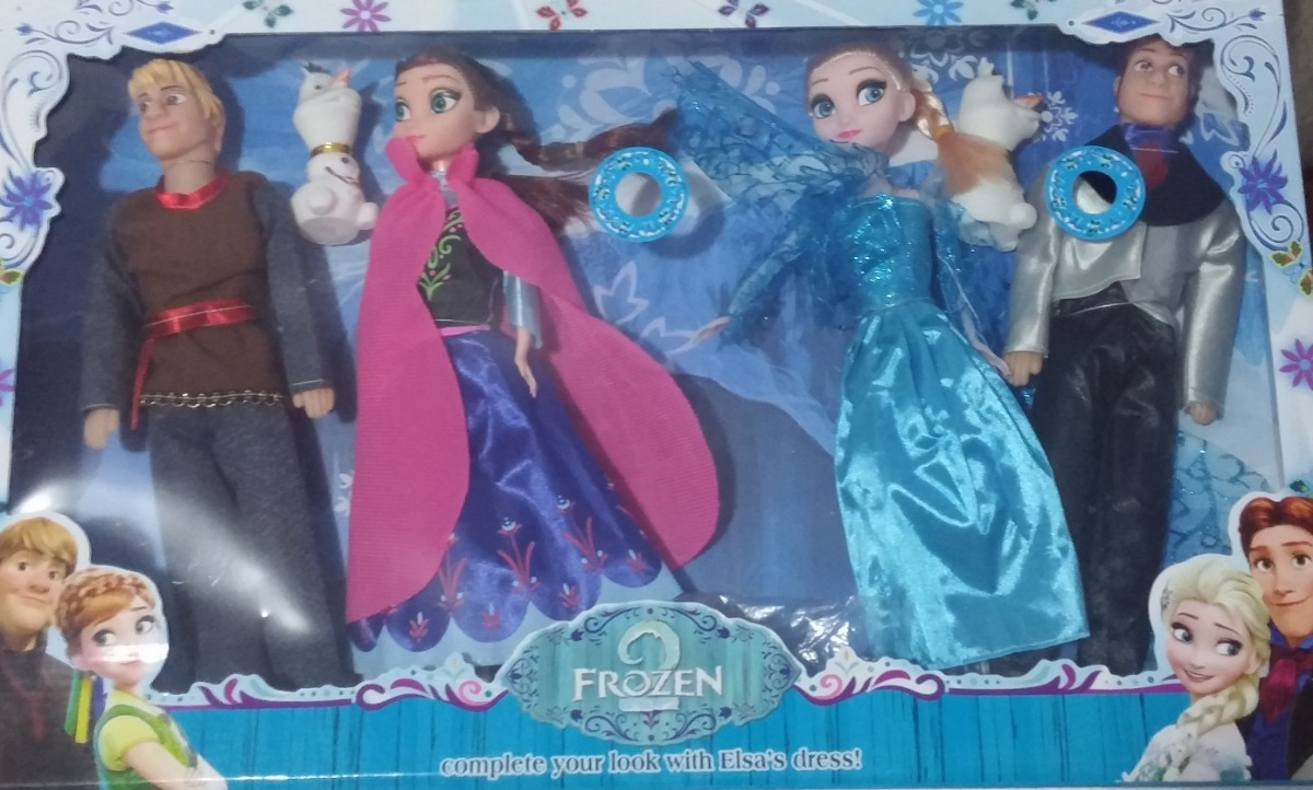 9b1c131a2a kit 4 boneca frozen elsa ana músical disney let it go. Carregando zoom.