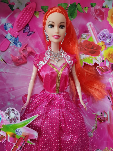 kit 4 bonecas ana bella princesas modelo barlina atacado