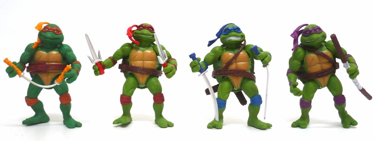 Kit 4 bonecos brinquedos tartarugas ninjas pvc acessrios r 35 carregando zoom thecheapjerseys Image collections