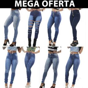 ec7d98708 Calça Com Lycra Feminina - - Calças Jeans Feminino no Mercado Livre Brasil
