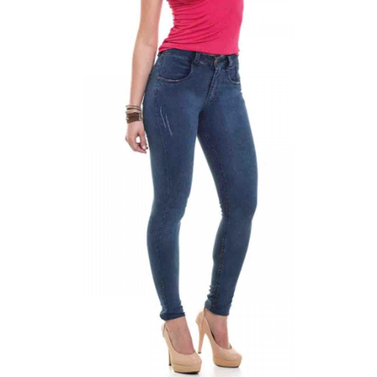 34957093c4 kit 4 calça jeans feminina cintura plus size atacado c lycra. Carregando  zoom.