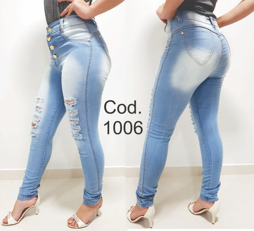 kit 4 calça jeans hot pants  feminina com elastano